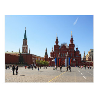 Red Square in Moscow Postcard