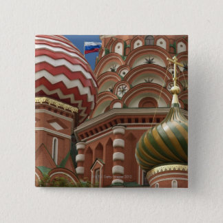 Red Square, Russian Federation 15 Cm Square Badge