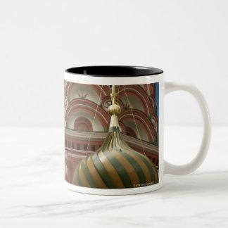 Red Square, Russian Federation Two-Tone Coffee Mug