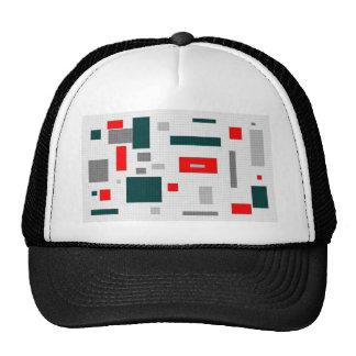 Red Squares Cap