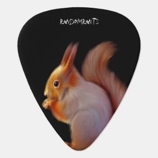 Red Squirel Guitar Picks