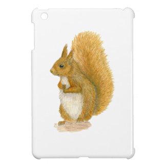 Red Squirrel iPad Mini Cover