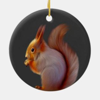 Red Squirrel Ornament