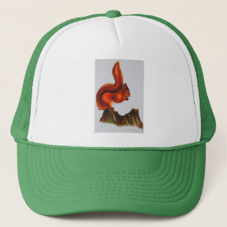 Red Squirrel Products Trucker Hat