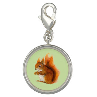 Red Squirrel Watercolor Painting Gifts and Bags