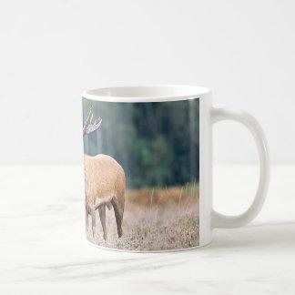 red stag coffee mug