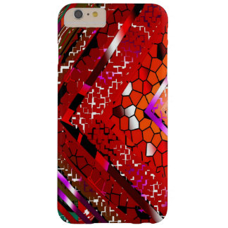 Red Stained iPhone 6 Plus Case