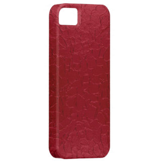 Red Stainless Steel Metal Case For The iPhone 5