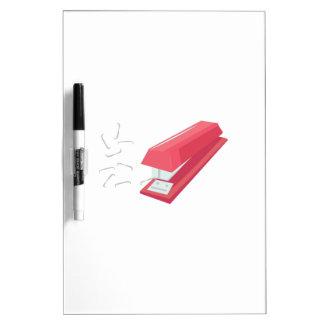 Red Stapler Dry-Erase Whiteboard