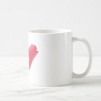 Red Stapler Classic White Coffee Mug