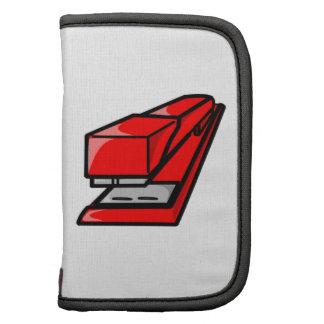 Red Stapler Folio Planner