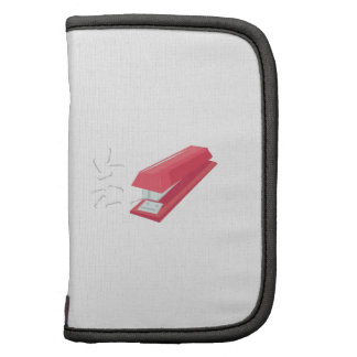 Red Stapler Folio Planners
