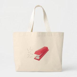Red Stapler Jumbo Tote Bag