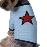 Red Star! Cool Red Star productcs! Dog Clothes