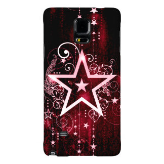 red star galaxy note 4 case