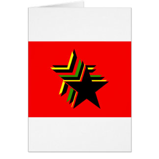 red star greeting cards