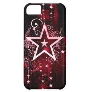 red star iPhone 5C case