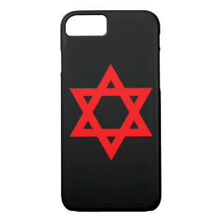Red Star of David iPhone 7 Case
