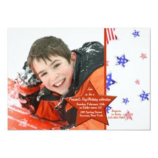 Red Star Photo Invitation