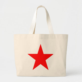 Red Star Products & Designs! Large Tote Bag