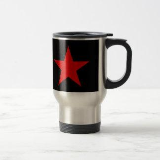 Red Star Stainless Steel Travel Mug