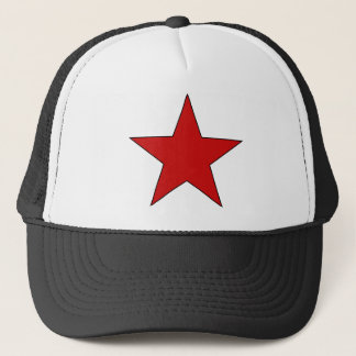 Red Star Trucker Hat