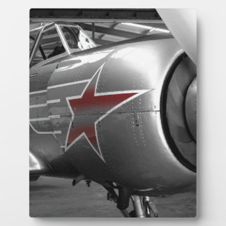 Red Star Yak 52 Display Plaque
