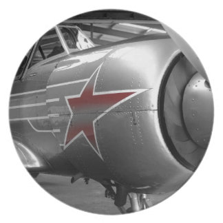 Red Star Yak 52 Plate