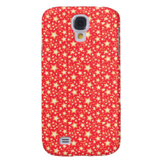 Red Stars Samsung Galaxy S4 Cover