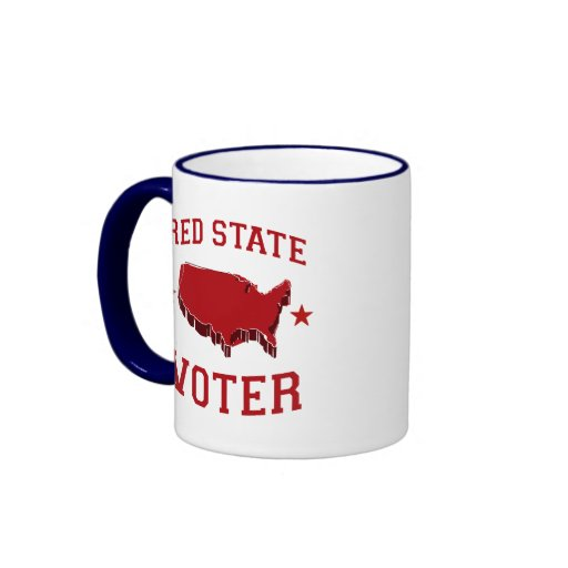 RED STATE VOTER COFFEE MUGS