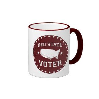 RED STATE VOTER - RINGER MUG