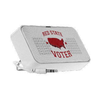 RED STATE VOTER MINI SPEAKERS