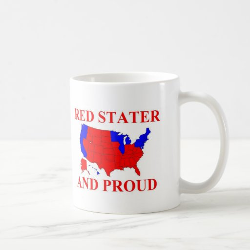 Red Stater and Proud Mugs
