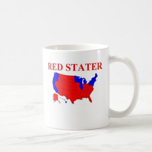 Red Stater Coffee Mugs
