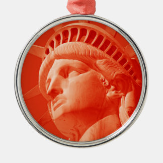 Red Statue of Liberty Ornaments
