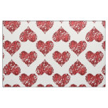 Red Steampunk Hearts Fabric
