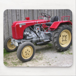 Red Steyr Tractor Mouse Mat