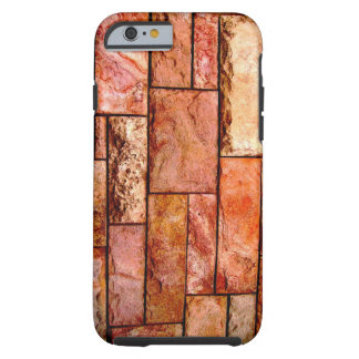 Red stone coating tough iPhone 6 case