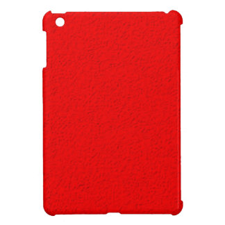 red Stone pattern iPad Mini Cover