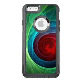 Red Storm Abstract Art Commuter OtterBox iPhone 6/6s Case