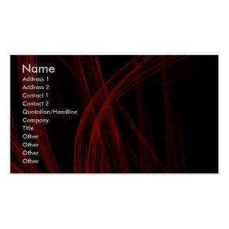 Red Strain Business Card