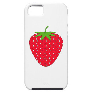 Red Strawberry. Case For The iPhone 5