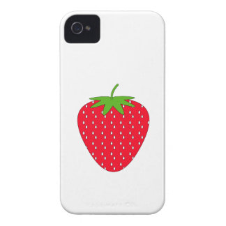 Red Strawberry. Case-Mate iPhone 4 Case