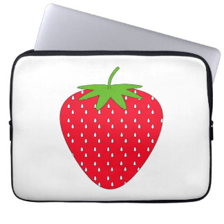 Red Strawberry. Laptop Sleeve