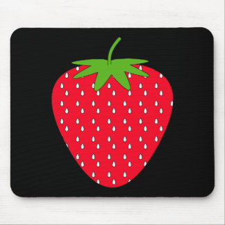 Red Strawberry. Mouse Mat
