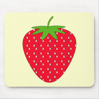 Red Strawberry. Mousepad