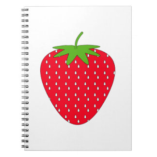 Red Strawberry. Notebook