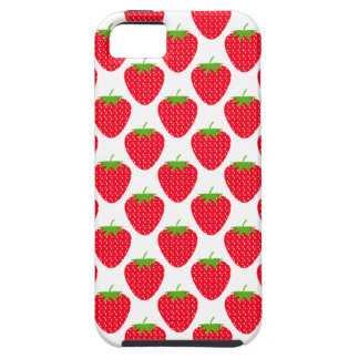 Red Strawberry Pattern. iPhone 5 Covers