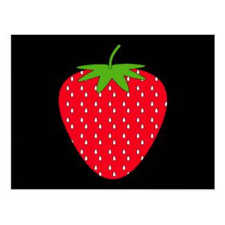 Red Strawberry. Postcard