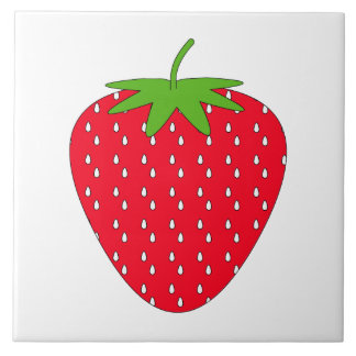 Red Strawberry. Tile